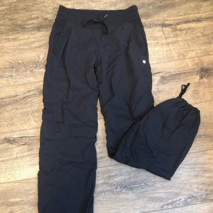Lululemon lined, studio pants